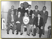 Beacon Hotel Darts Team c 1948