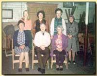 Group in chapel basement, 1970s