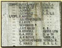 War Memorial 8